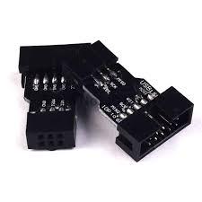 <b>5pcs 10 Pin to</b> 6 Pin Adapter Board for AVRISP MKII USBASP ...