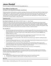 Sample Marketing Director Resume Sample Resume For Marketing
