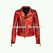 outer clothing handmade livemaster handmade luxurious jacket in genuine python leather