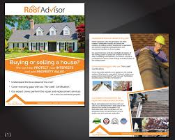Bold Modern Roofing Flyer Design For A Company By