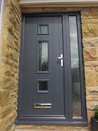 grey front door16 best Front Door images on Pinterest  Front doors Cottage door