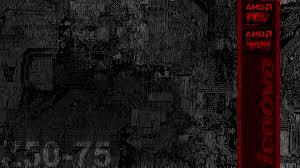 AMD + Lenovo wallpaper I made for my ...