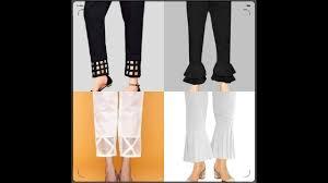 Stylish Capri Design Latest Stylish Trousers Designs For Girls 2019 Hd 001