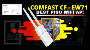 <b>Comfast Cf</b>-Ew71 Access Point (AP) Setup for Piso wifi Vendo ...