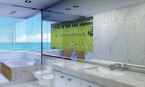 Bathroom Mirrors Bathroom Mirror Tv Design Decorating Interior
