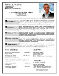 Hostess Resume