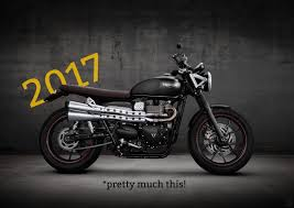new triumph scrambler is on its way motofire