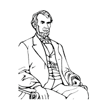 memorial coloring page pages of abraham lincoln best kids pictures she