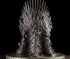 life size iron throne