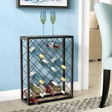 Small wine racks Bottle Wine Fulford 32 Bottle Floor Wine Rack Wayfair Small Wine Rack Table Wayfair