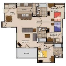 3 bedroom floor plans. Delighful Bedroom Three Bedroom Standard  For 3 Floor Plans