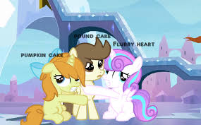 Pound Cake Pumpkin Cake And Flurry Heart Ponies Flurry Heart