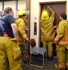 lisbon firefighters library patrons trapped in elevator lisbon assistant fire chief kurt gresh and firefighters carl cook jr and assistant chief gilbert