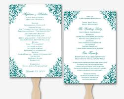 Microsoft Wedding Program Templates Wedding Program Template Word Cyberuse