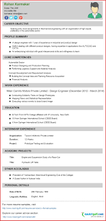 Elegant Engineering Resumes Resume Pdf