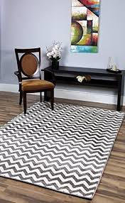 if you love the chevron pattern this is the perfect option for your living room or family room dark gray and white also comes in black dark blue