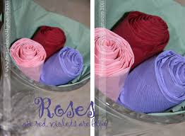 Paper Napkin Folding Flower Easy Paper Napkin Roses Busy In Brooklyn
