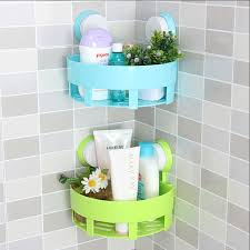 Simple life bathroom accessories basket rack wall hanging shelf