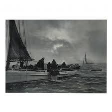A. Aubrey Bodine (American, 1906-1970), Choptank Oyster Dredgers (Lot 360 -  The March Estate AuctionMar 28, 2020, 9:00am)