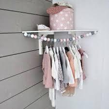 diy wall clothes rack wall mount