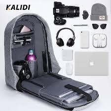 KALIDI Men Backpacks <b>15inch</b> Multifunction Laptop Backpack <b>USB</b> ...