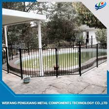 composite removable garden temporary fence panels