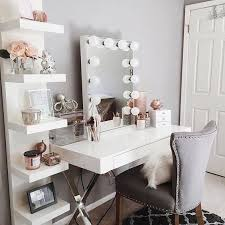 heavenly vanities for bedrooms with lights in bedroom lighting ideas decoration storage makeup tables home and furniture