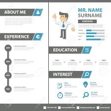 Creative Marketing Resume Smart Creative Resume Business Profile Cv Vitae Template Layout