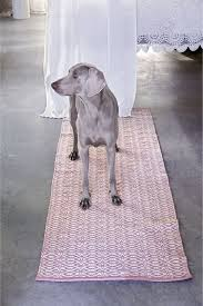 rug 300 x 200. bergen cotton rug in rose/natural - available sizes 55 x 120 cm, 300 200