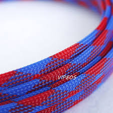 popular wire harness protection buy cheap wire harness protection 3meter braided cable 8 15mm wiring harness loom protection sleeving blue red for diy