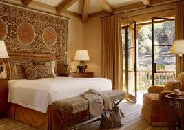traditional bedroom ideas with color. Traditional Eclectic Master Bedroom Ideas With Unique Wall Tapestry And Beige Color