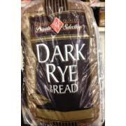 Private Selection Dark Rye Bread Calories Nutrition Analysis
