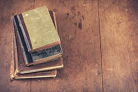 background clic old boring book on wooden table clic old book boring