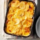 au gratin scalloped potatoes   onions
