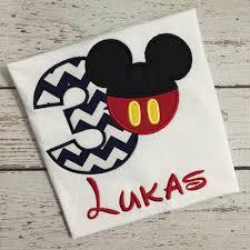 Mickey Mouse Birthday Shirt – Bundle of Fun
