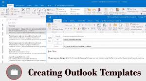 create email template outlook create email template in outlook youtube