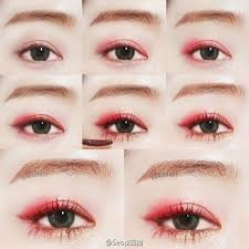 korean s love vibrant colors such as bright pinks cs and orange and it turned out so well in this tutorial many of your favorite korean brands