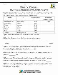 Metrich Worksheets Customary And Length Distance To V1 Free ...