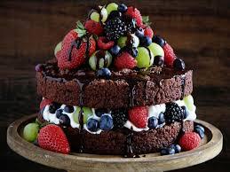 Naked Chocolate Cake Recipe Amanda Rettke