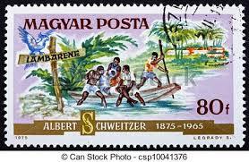 Bildergebnis für albert schweitzer briefmarke
