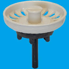 indian ivory kitchen sink basket strainer waste plug 39000024