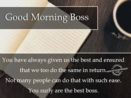 Good Morning Boss Quotes Best of Good Morning Boss Quotes Good Morning Wishes For Boss Pictures