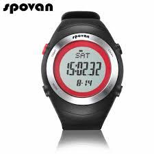 mens watch ratings promotion shop for promotional mens watch spovan sport watches for women watch women digital men watch heart rate monitor stopwatch waterproof spv908