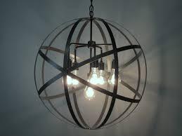 globe chandelier wood rustic living room with wood beams high