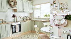 Updated kitchen tour | Shabby chic style