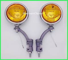 kit 5 inch amber fog lights fog lamp wiring harness new 12v 6 volt amber glass 5 fog lights painted bumper brackets h3 gm