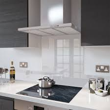 clear glass splashbacks glass upstands and a choice of fixings
