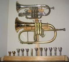 diy trumpet wallmount studio