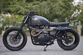 triumph bonneville scrambler by rajna custom motorcycles