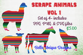 You can copy, modify, distribute and perform the work, even for commercial purposes, all. Serape Animals Includes Jpg Png And Svg Files Includes A Horse Coyote Alpaca And Sheep Perfect For A Variety Of Serape Animals Objects Design